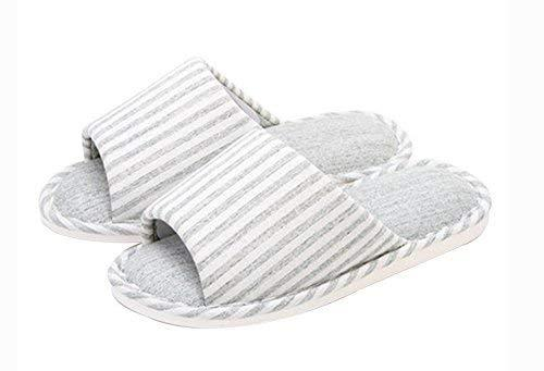 (Made By Cotton) Skidproof The Simple Style Of Home Slippers(Light Green)