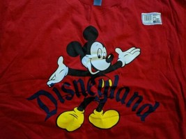 VINTAGE Disneyland Designs Mickey Mouse Shirt 80s 90s Walt Disney World XXL - $46.74