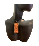 Handmade Long Rectangle Necklace - $29.99