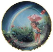 Danbury Mint The Enchanted Garden Under The Rainbow Mary Baxter St Clair CP1718 - $35.67