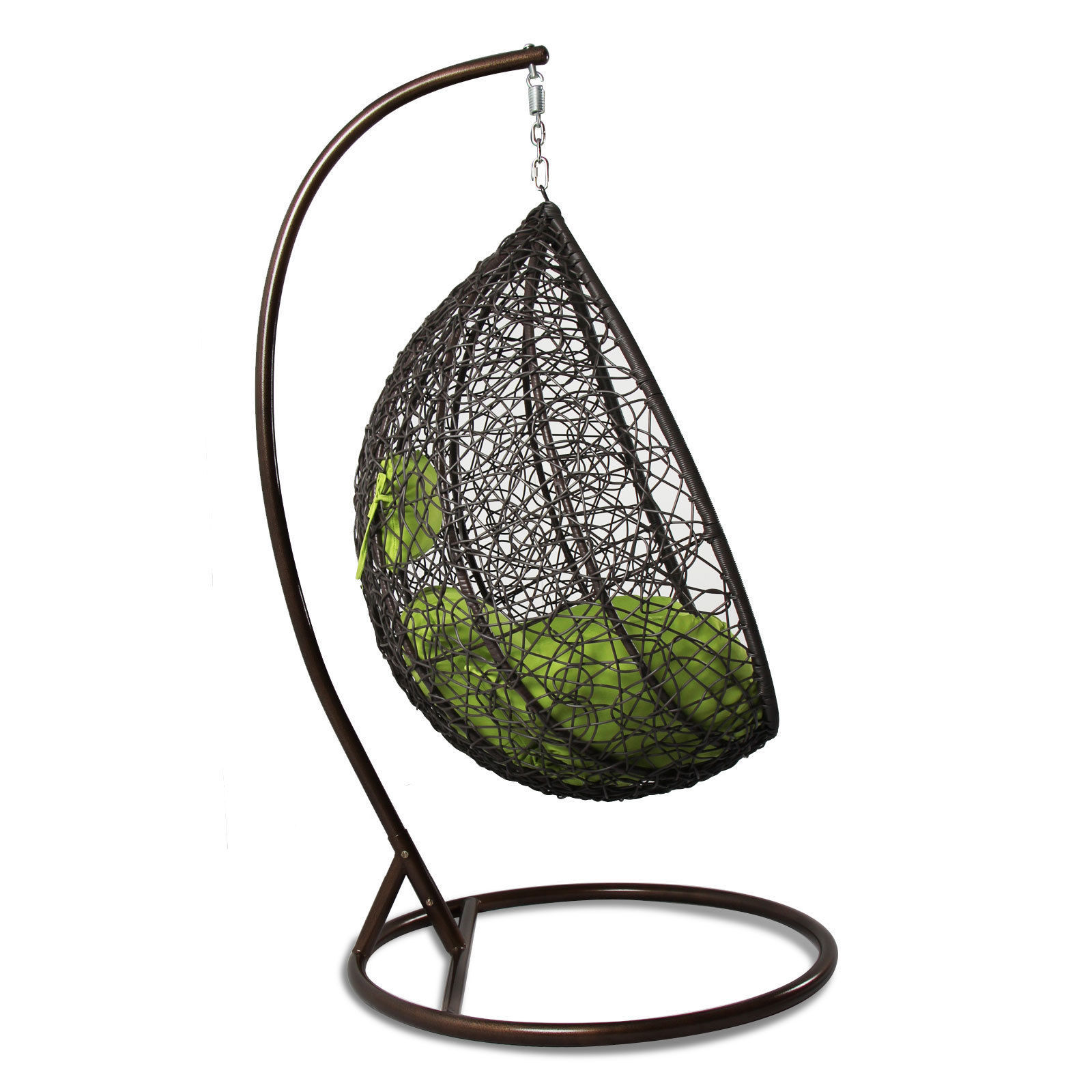 Hanging Hammock Proch Swing Chair Free Cover Outdoor Egg ...