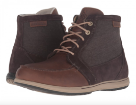 Columbia Mens Davenport PDX Waterproof Boots Leather/Waxed Canvas Shoes - $1.833,32 MXN