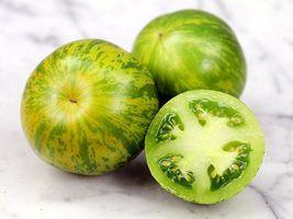 30+ Green Zebra Heirloom Tomato Seeds ~ Vegetable Garden Fruit ~ Rare Va... - $15.99