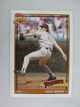 Andy Benes San Diego Padres 1991 Topps Baseball Card 307 - $0.98