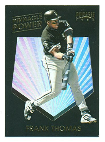 1996 Pinnacle Frank Thomas Pinnacle Power #1 - Chicago White Sox HOF - Baseball