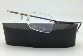 New SILHOUETTE Rimless Eyeglasses ZENLIGHT 7641 6058 52-19 Copper Brown ... - $299.95