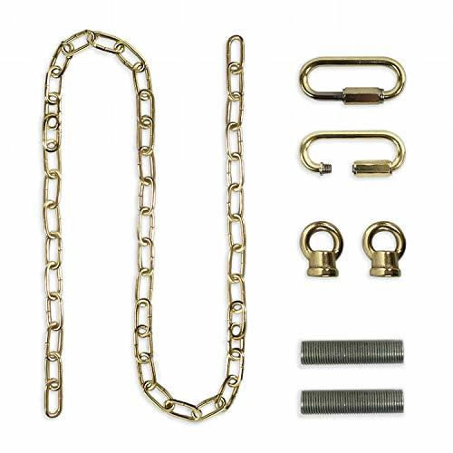 Royal Designs Heavy Duty Lighting Fixture Chain, Polished Brass - $11.95