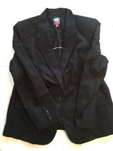 Vince Camuto Mens Black 16W Jacket Only - $20.31