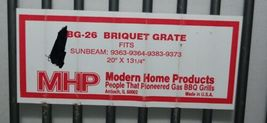 Modern Home Products BG26 Briquette Grate Stainless Steel image 3