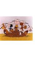 Peanuts Baseball Charlie Brown Vintage 11X14  Matted Color TV Memorabili... - $13.99