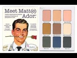 theBALM Meet Matt(e) Ador Matte Eyeshadow Palette  - $28.99
