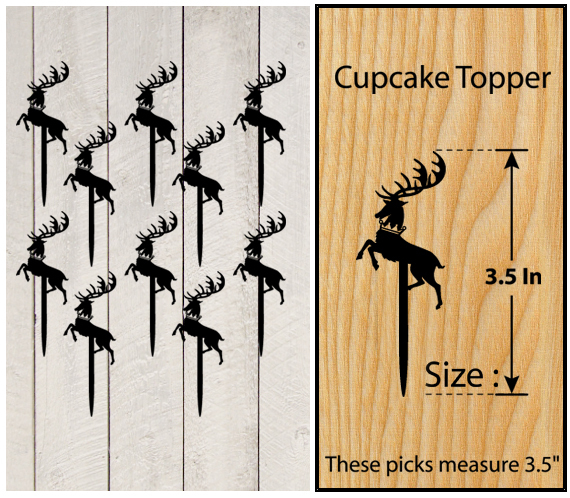 Ca355 Wedding,Birthday Cake topper,Cupcake topper, game of thrones : 11 pcs