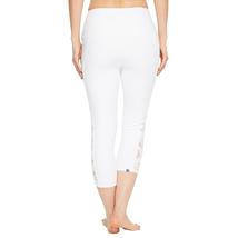 Onzie Bridal White Lace Stunner Capri Leggings Size M/L image 4