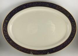"Lenox Barclay Oval serving platter 17 "" - $70.00"