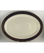 "Lenox Barclay Oval serving platter 17 "" - $70.00"
