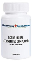 Relentless Improvement Active Hexose Correlated Compound Compare to AHCC Brand image 1