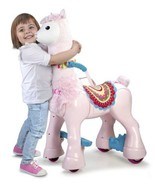 New FEBER My Lovely Llama 12V Ride On Toy Child Size Big Ride Toy New In... - $199.99
