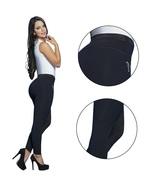 Fajas Melibelt Super Slimming Black Fashion Leggings  - $62.99