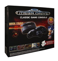 SEGA Megadrive Classic Game Console Plug and Play with 80 Built-in Games - $65.01