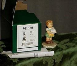 "Berta Hummel "" Make a Wish"" Figureine BH 130* MIB Paperwork 2000 - $33.65"