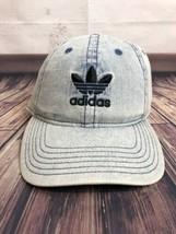 ADIDAS NMD Relaxed Fit Strapback Light Denim Summer Boost OSFA Dad Hat C... - $23.76