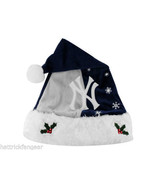 New York Yankees Forever Collectibles MLB Knit Fleece Santa Hat - $17.09