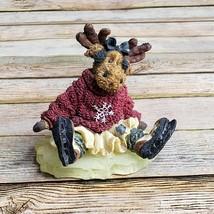 Boyds Bear Mattie Frostburns Triple Klutz Figure The Moose Troop Style #36904  - $26.72
