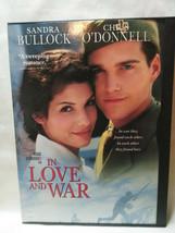 In Love and War (DVD, 1999), Sandra Bullock, Chris O'donnell - $1.49