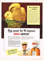 Vintage 1941 Magazine Ad Shell Oil Drive In For Thoro-Fast Service To Lubricate - $5.93