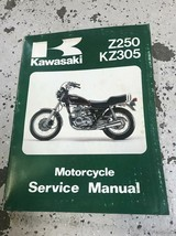 1979 1980 1981 1982 Kawasaki Z250 KZ305 Service Repair Shop Manual OEM  - $39.55