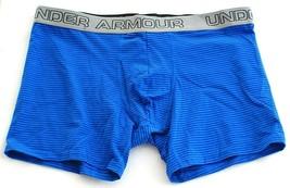 """Under Armour Blue Cotton Stretch 6"""" Boxerjock Boxer Brief Underwear Men's NWT - $18.74"""