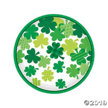 Blooming Shamrocks Dinner Plates 9 inches, Set of 18 - $14.34