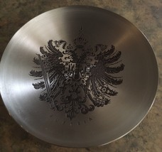 Austria Mini Souvenir Stainless Steel Plate with Crest Design - $15.00