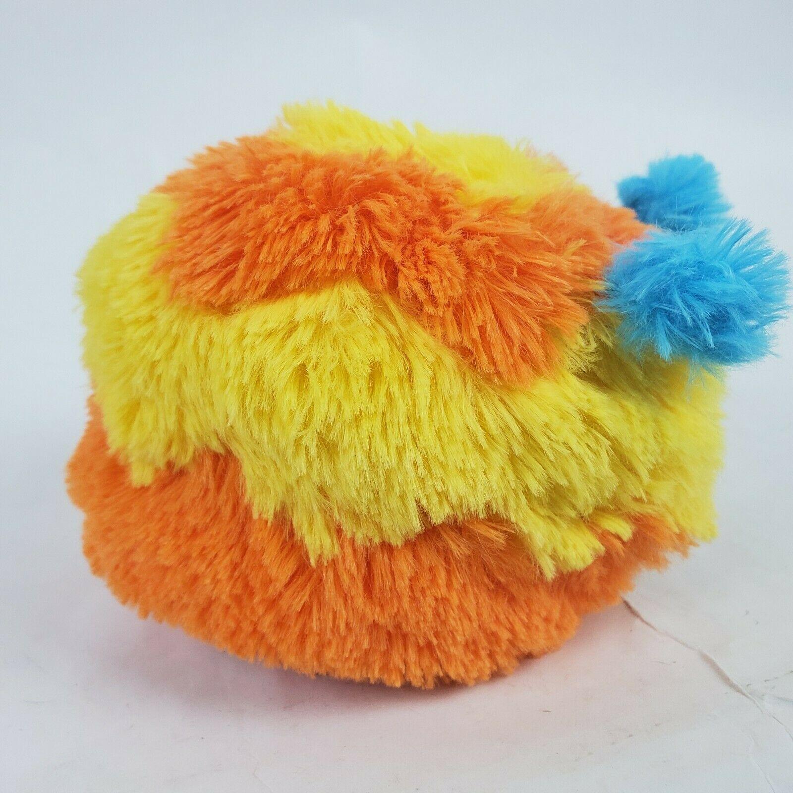 "Disney Doc McStuffins Squibbles 5"" Plush Dog Orange Yellow Stuffed Animal  image 4"