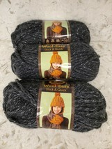 3 Skeins Lion Brand Wool Ease Thick Quick Yarn Super Bulky 6 CONSTELLATI... - $19.25