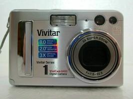 Vivitar VivaCam 8400 Digital Camera 8.0MP - Silver - $19.99