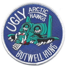 "4"" Air Force A-10 Artic Hawgs Ugly But Well Hung Embroidered Patch - $18.04"