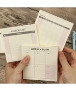 XUES® 1PC/Set Cute Kawaii Weekly Monthly Work Planner Book Diary Agenda - $3.30