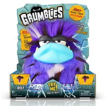 Grumblies Purple Bolt Interactive Toy New in Box - $29.69