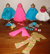Vintage Dawn Topper Doll Blue Bell Fashion Neat pleat pink dress shoes p... - $49.49