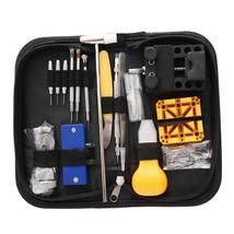 130pcs Watch Repair Tool Set Professional Adjustable Case Opener Spring ... - $26.00