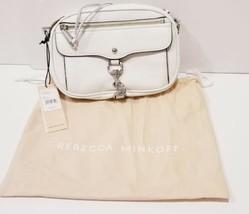 Rebecca Minkoff Blythe Crossbody Leather  Hand Bag Purse White Cross Body NWT - $148.86