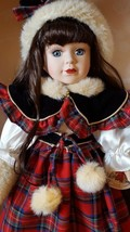 VICTORIAN BOWS COLLECTION 1999 by Melissa Jane Genuine Porcelain Doll 16... - $39.43