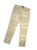 LRL Lauren Jeans Co. Ralph Lauren women's Corduroy cream Aztec Pants size 8 - $57.18