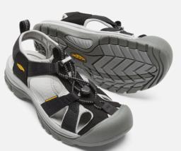 Keen Venice H2 Size US 6.5 M (B) EU 37 Women's Sport Sandals Shoes Black... - $65.61