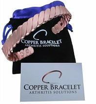 Copper Bracelet Twisted for Arthritis - Guaranteed 99.9% Pure - $19.28