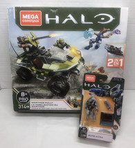 Mega Construx Halo Infinite Warthog Rally & Elite Ultra Figure Lot Set New - $21.03