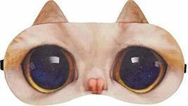 Cute Cat Expression Sleep Goggles Sleeping Mask Eye Cover - $16.89