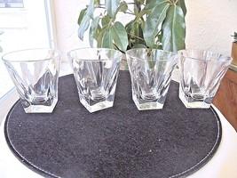 "Set of 4 Whiskey Rocks Glasses 4"" Tall. - $37.61"