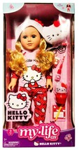 """My Life as Hello Kitty Blonde Posable 18"""" Doll with 9 Piece Accessory Set - $59.35"""